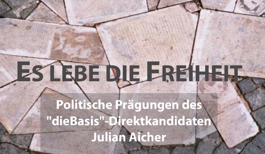 Julian Aicher liest zum Geburtstag von Hans Scholl — Montag 20. September 2021 ab 20:30 Uhr in Weingarten